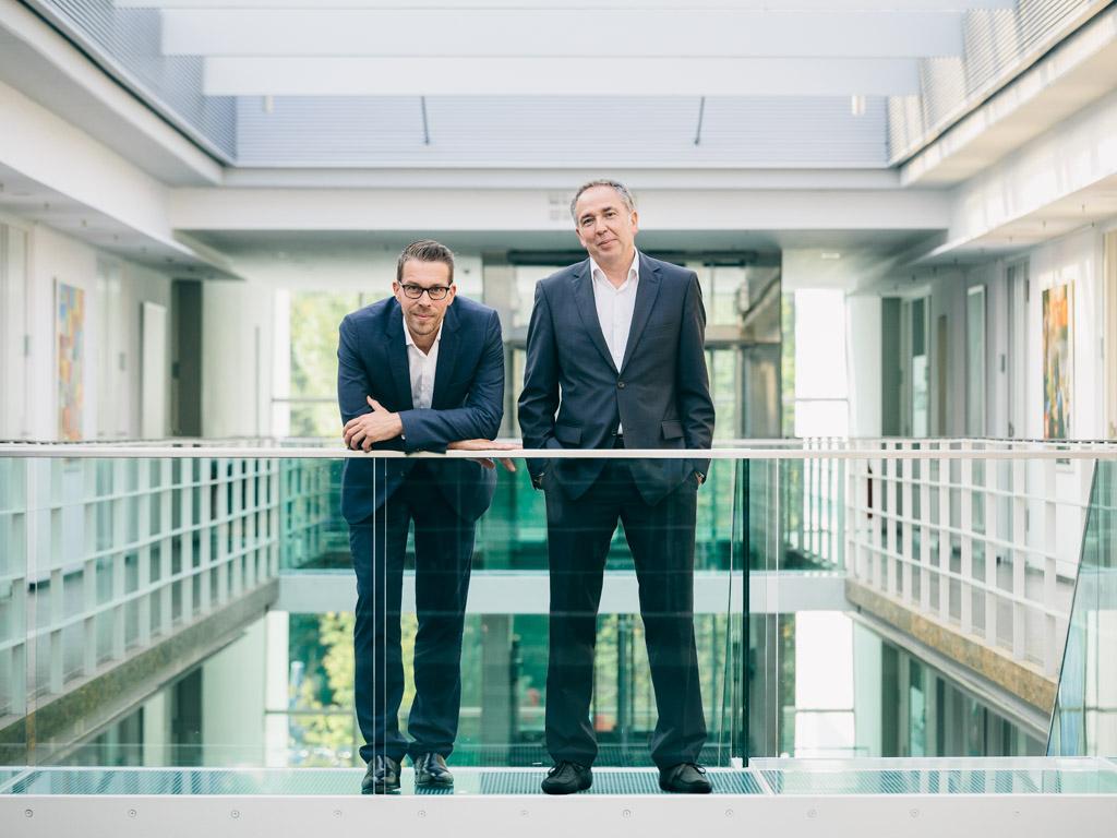 Andreas Koesling und Andreas Bartl, Vorstand, RTL2