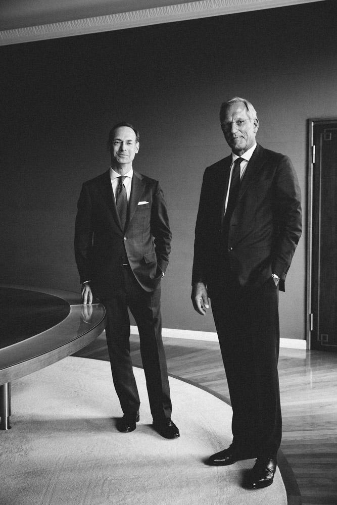 Oliver Bäte, Michael Diekmann, CEO, ehem. CEO, Allianz SE