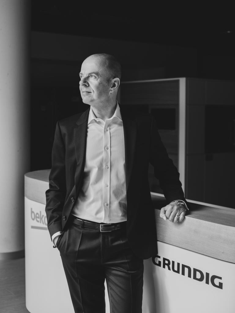 Mario Vogl, CEO, Grundig